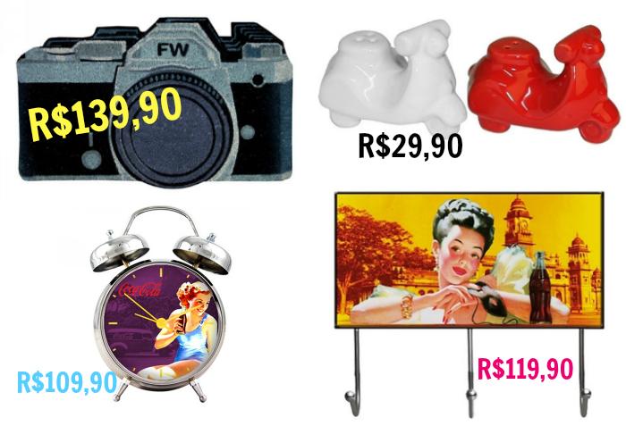 Presentes de Natal baratos e divertidos vintage, presentes vintage, presentes de natal, decoração vintage