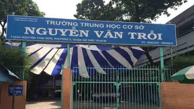 Trường THCS Nguyễn Văn Trỗi quận Gò Vấp - TP. Hồ Chí Minh