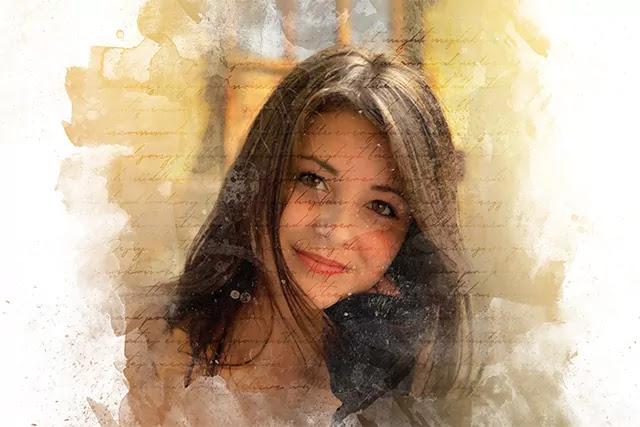 Art Photo Effect PSD