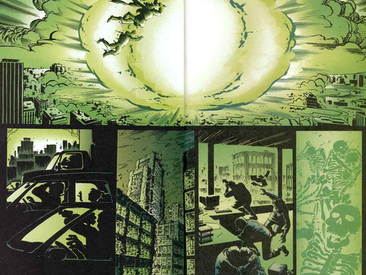 Kekuatan Palu Thor Marvel Avenger bisa meledakkan menghancurkan kota