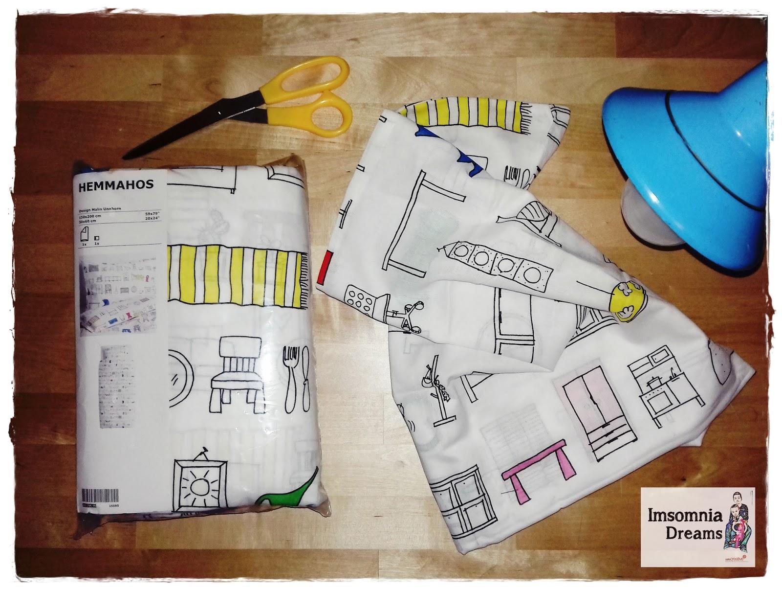 fundas cojines ikea ImsomniaDreams DIAS DE COSTURA DE FUNDA DE COJN DE IKEA