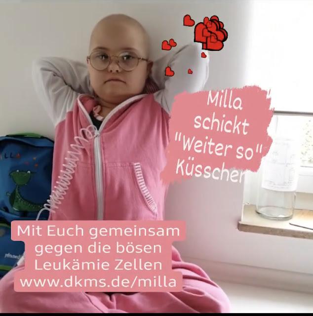 Milla will wieder tanzen - Leukämie und Down-Syndrom