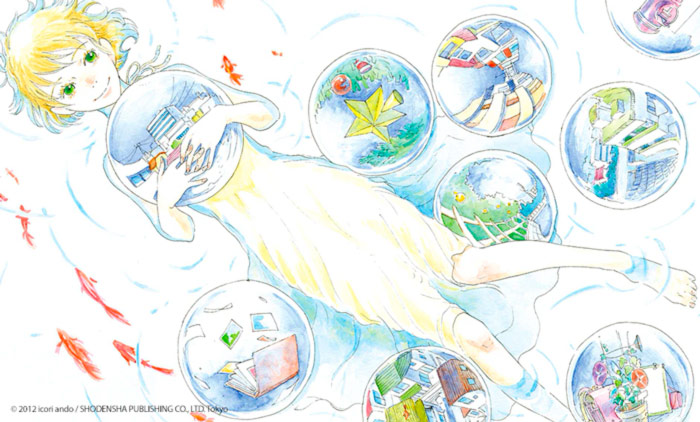 Silent Blue manga - Ikori Ando - Milky Way Ediciones