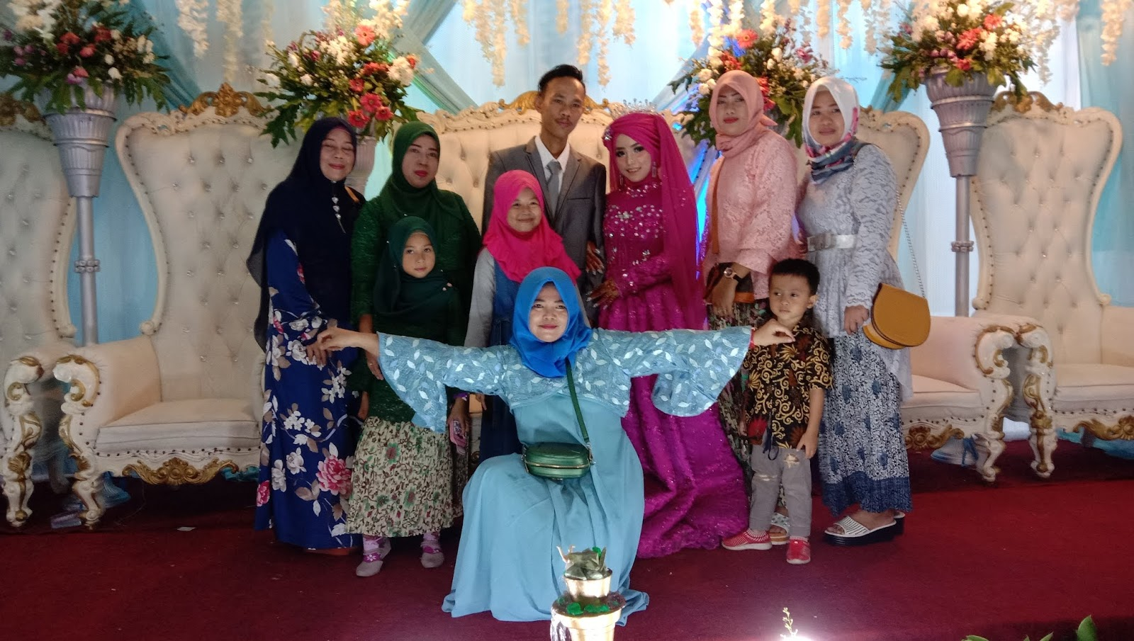 Pernikahan Ipat Nurul F dengan Fajar Saputra