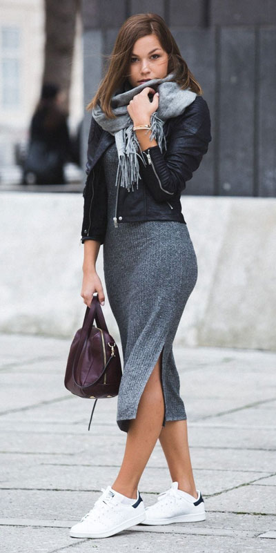 Need Style Inspiration for Fall Season. See these 31 Most Popular Fall Outfits to Truly Feel Fantastic. Fall Style via higiggle.com | bodycon dress | #fall #falloutfits #style #bodycondress