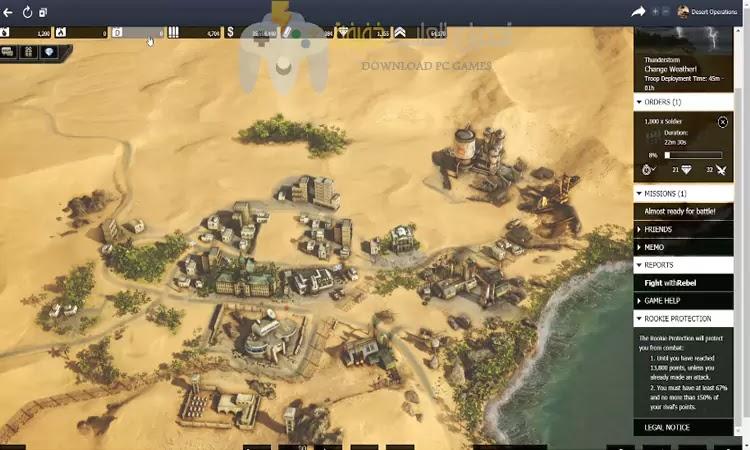 تحميل لعبة Desert Operations برابط مباشر بحجم صغير