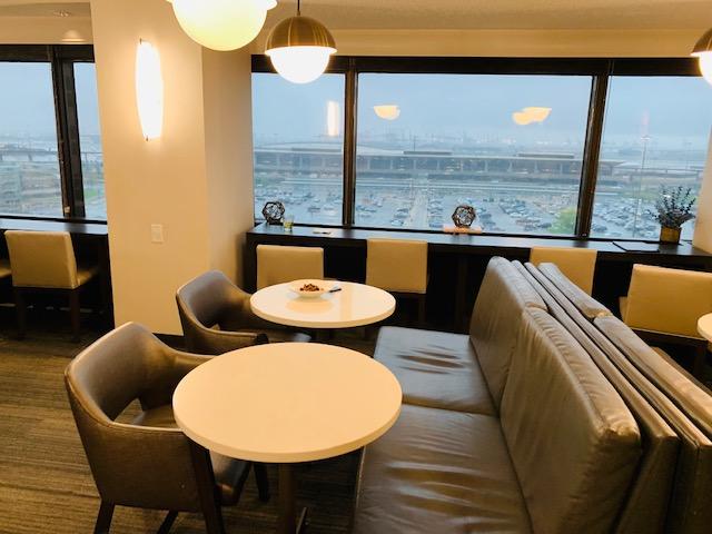 Newark Liberty International Airport Marriott Lounge