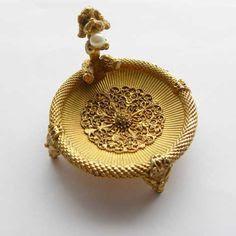 Poodle jewellery pot by Mirella