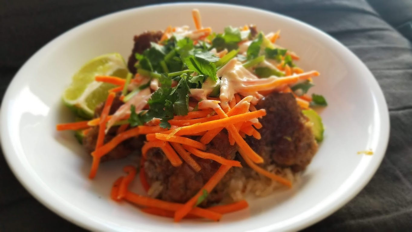 HelloFresh Meatball Banh Mi Bowl