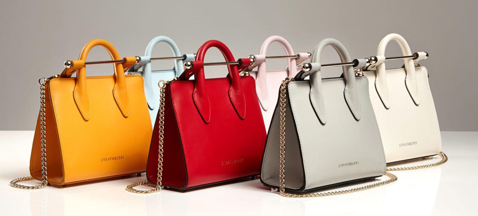 時尚英國包包界最閃耀的「三顆莓」-Strathberry,Mulberry 和 Burberry!不認識就錯過絕品好物了