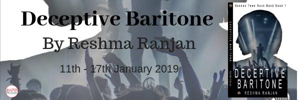 Blog Tour: Deceptive Baritone by Reshma Ranjan