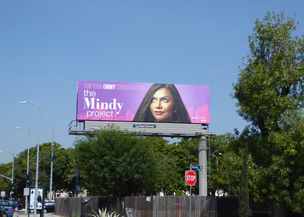 Mindy Project season 4 Emmy 2016 billboard