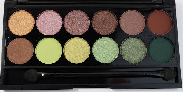 Sleek - i-Divine Garden of Eden Lidschattenpalette Eyeshadow