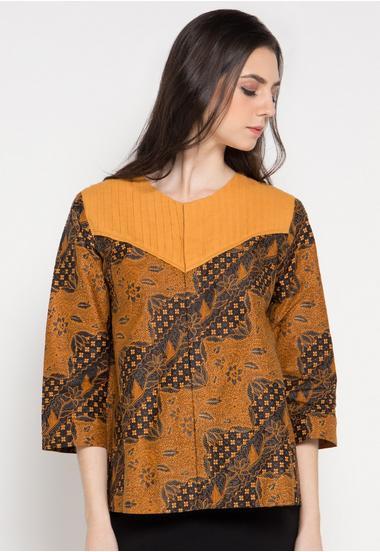 model baju batik pramugari Terbaru