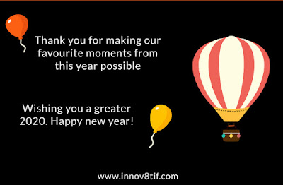 Innov8tif wishing you a greater 2020. Happy new year!