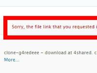 Tidak Bisa Download di 4Shared? Ini Cara Mengatasinya