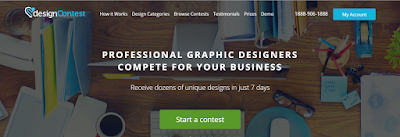 Earn dollars with Designcontest
