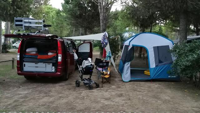 Předstan ke karavanu