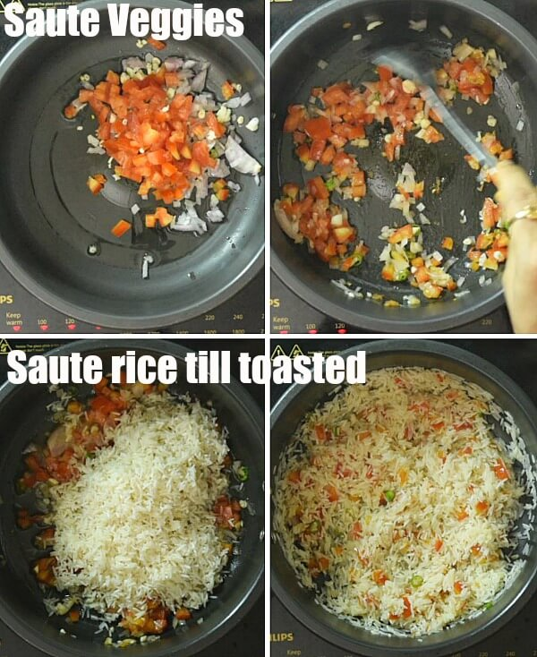 steps to make best spanish rice