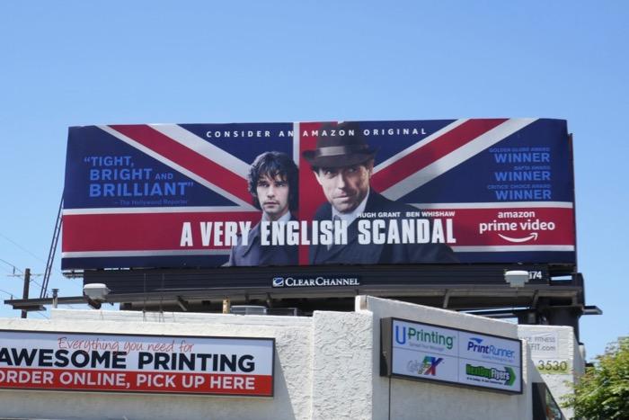 A Very English Scandal 2019 Emmy billboard