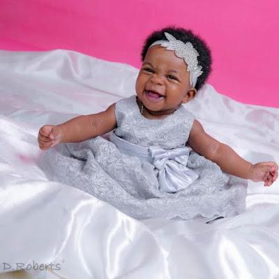 Image result for Ebuka Obi-Uchendu & wife, Cynthia finally share photos of their beautiful daughter, Jeweluchi