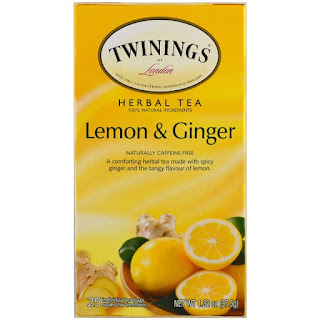 شاي تويننجز بالزنجبيل والليمون
