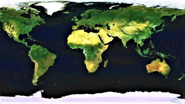 Peta Dunia Versi Google Earth