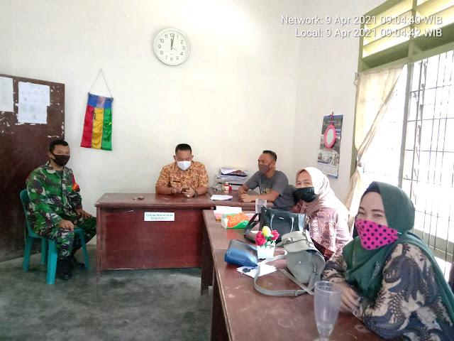 Terjalinnya Hubungan Silaturahmi Yang Semakin Kuat Antara TNI Dengan Perangkat Kelurahan Dilakukan Personel Jajaran Kodim 0208/Asahan