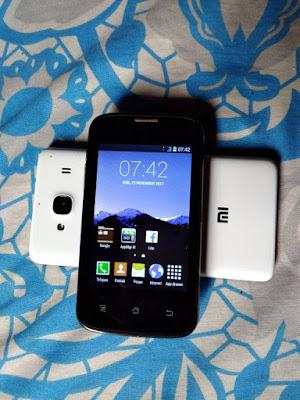 Android kecil merk Evercoss harga 90rb