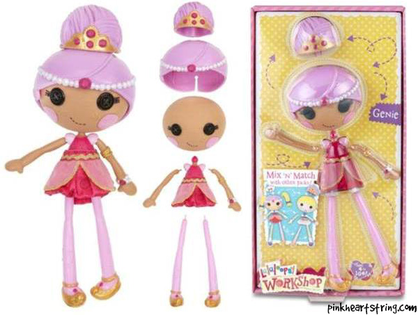 Lalaloopsy Workshop Genie Pack Playset