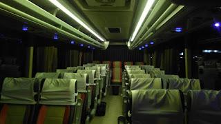Interior Bus Pariwisata Jogja Seat 35