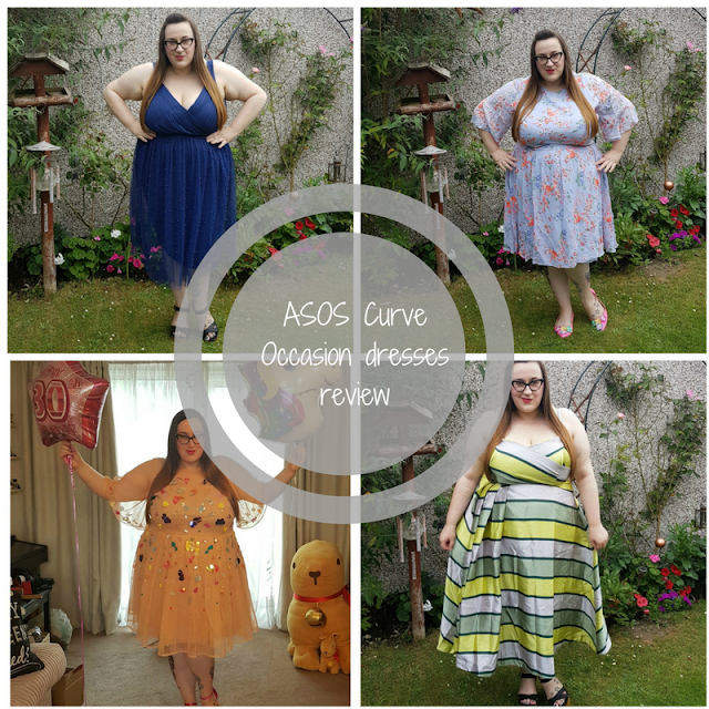 ASOS Curve plus size occasion dresses review