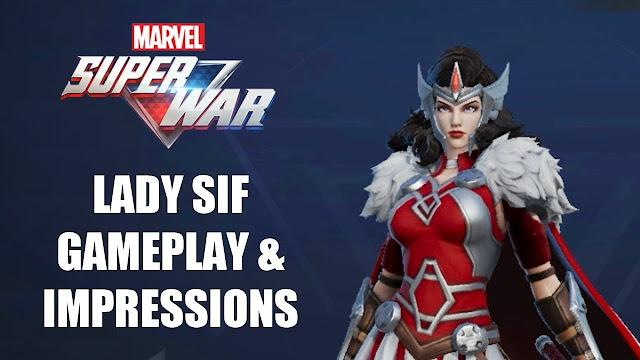 Panduan Dari Item Lady Sif Game MARVEL Super War, Lady Adalah Wanita Cantik Gesit dan Mematikan