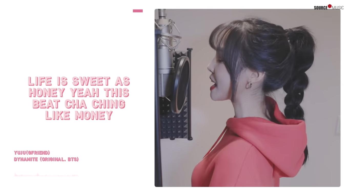 GFRIEND's Yuju Shows Sweet Vocals Through Cover of BTS' 'Dynamite'