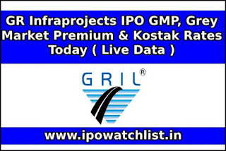 GR Infraprojects IPO GMP, Grey Market Premium