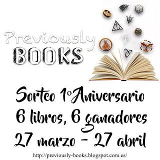Sorteo Previously Books