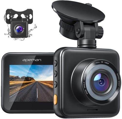 Review APEMAN C420D FHD Dual Dash Cam for Cars