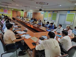 जिला खेल विकास एवं प्रोत्साहन समिति की बैठक सम्पन्न    #NayaSaberaNetwork