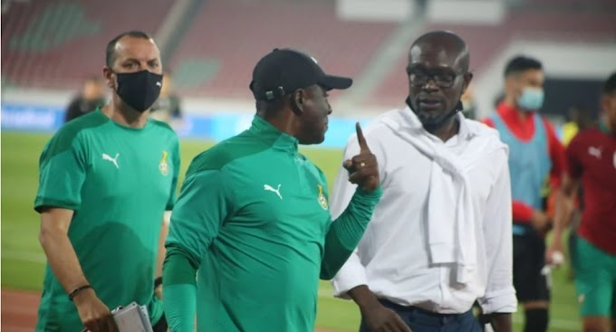 Black Stars coach CK Akonnor and his 2 assistants have been sacked.