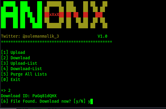 anonx prompts for download