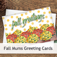 Fall Mums Cards