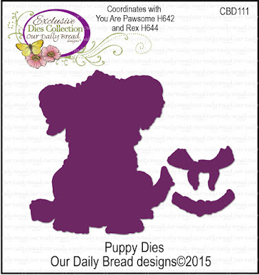 Our Daily Bread Designs Custom Dies: Dog