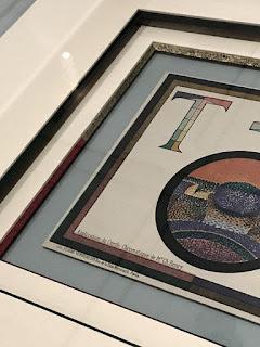 Impressionist artistic picture frame