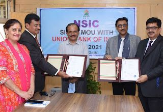 Union Bank of India signed MoU with NSIC