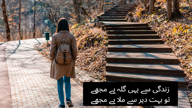 urdu shayri - poetry in urdu - two line poetry for fb and whats app status with images - love romantice gilla poetry