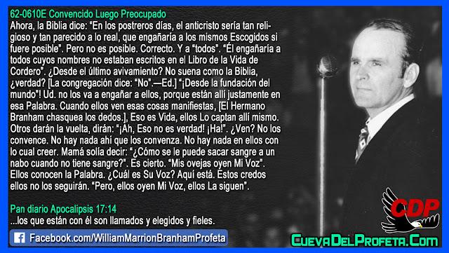No puede sacar sangre de un nabo - William Branham en Español