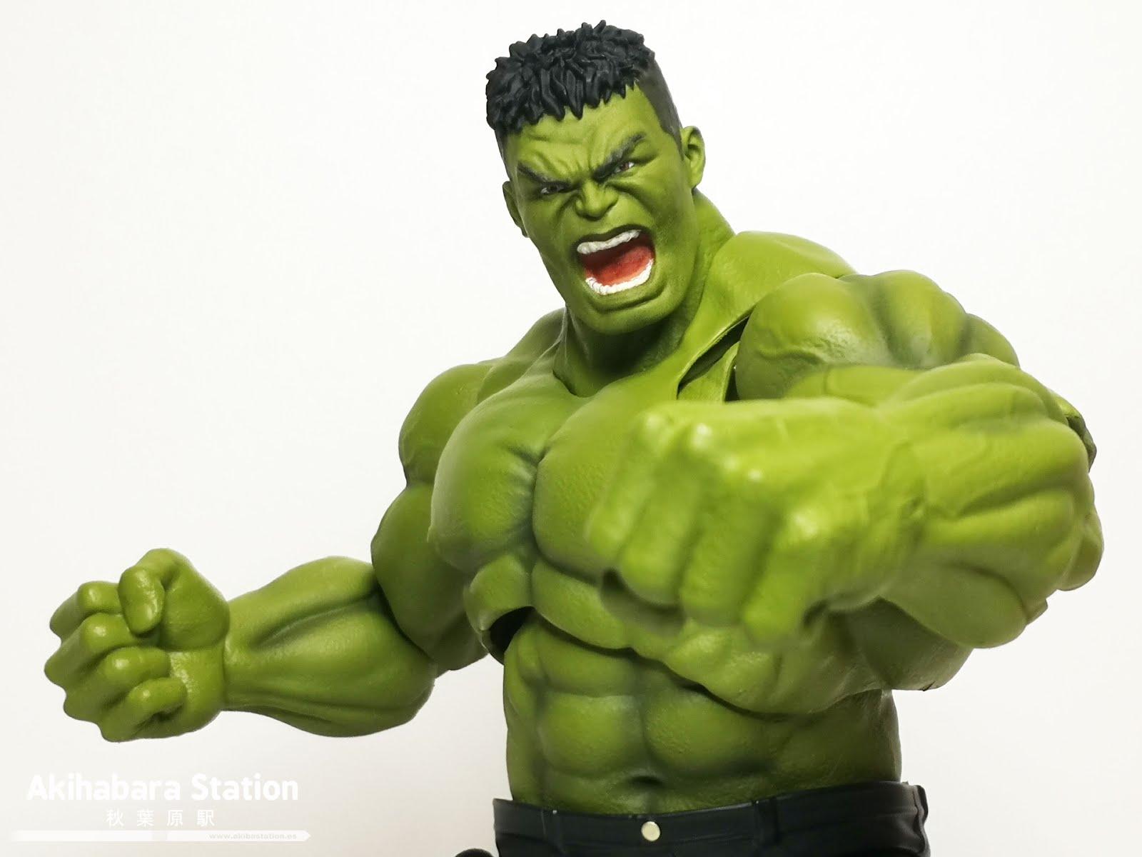 Review del S.H.Figuarts Hulk de Avengers: Infinity War - Tamashii Nations