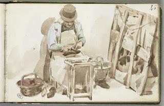 Cordonnier par Auguste Leprince