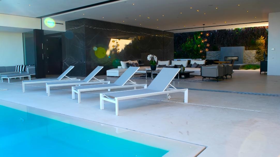 35 Interior Design Photos vs. 1535 Carla Ridge, Beverly Hills, CA Ultra Luxury Home Tour