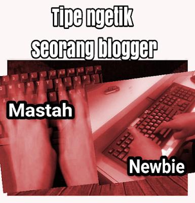 beda mengetik pada blogger pro dan newbie